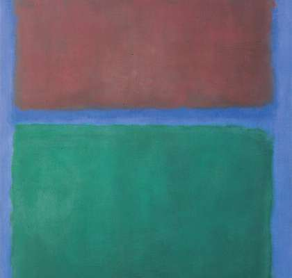 Mark RothkoEarth and Green, 1955, Museum Ludwig