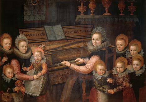Gottfried von Wedig (Köln 1583 – 1641 Köln): Familie Wintzler, 1616. Eichenholz, 139,5 x 198,5 cm. WRM 1714. Foto: Rheinisches Bildarchiv