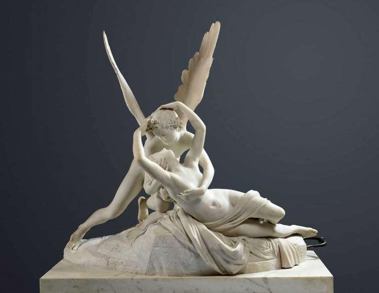 Antonio Canova, Amor und Psyche, 1793.